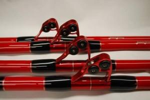 Custom tuna rods